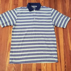 Greg Norman Green Striped Whistling Straits Golf P